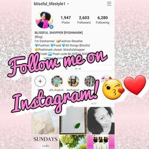 Other - 🌼Follow me on Instagram!🌼